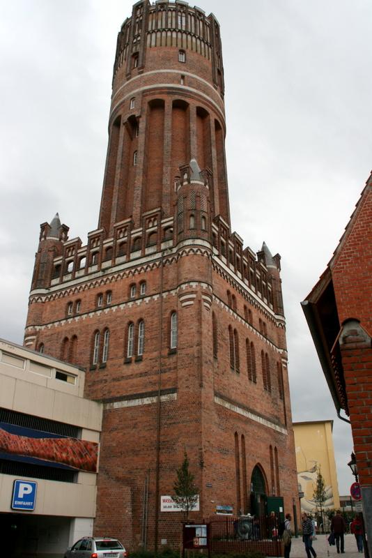 Der neue Wassertum in Lüneburg