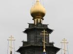 Die russisch-orthodoxe Holzkirche des Heiligen Nikolaus in Gifhorn