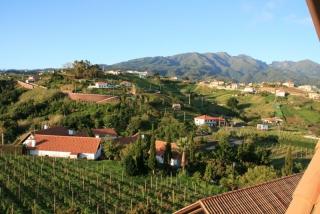 Landschaft vor unserem Hotel