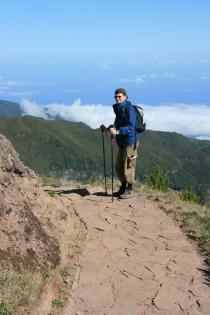 Aufbruch zum Pico Ruivo