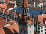 Das Alte Rathaus von oben