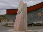 Denkmal am Polarkreis