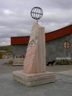 Monument am Polarkreis