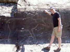 Steinbilder bei Bola