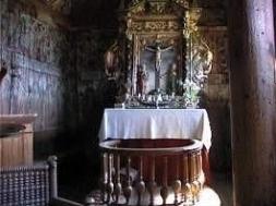 Altar in der Stabkirche von Urnes