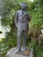 Statue des Komponisten Edvard Grieg