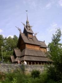 Stabkirche von Fantoft