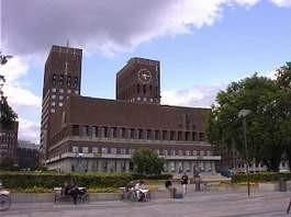 Das Rathaus von Oslo