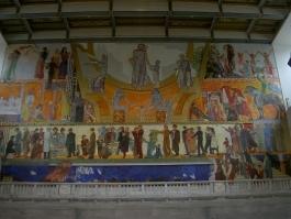 Wandgemälde im Rathaus