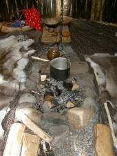 Samihütte von innen