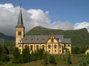 Vagan Kirchen in Kabelvag