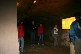 Historische Felsgänge in Nürnberg