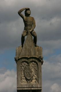 Bruckmandl an der Steinernen Brücke