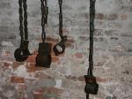 Folterwerkzeuge im Lochgefängnis