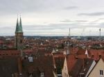 Blick von der Burg auf Nürnberg