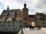 Salzstadl und Brücktor in Regensburg