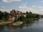 Hübsche Aussicht von der Steinernen Brücke