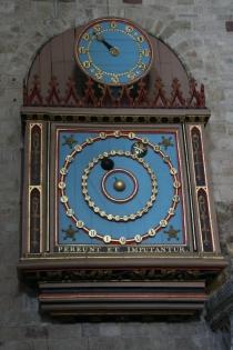 astronomische Uhr in der Kathedrale