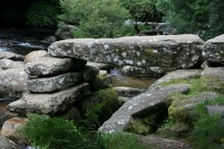 Clapper-Bridge in Dartmoor