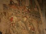 Wandmalereien in der Kathedrale von Winchester