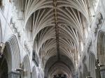 Mittelschiff der Kathedrale von Exeter
