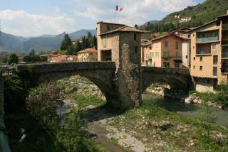 Die berühmte Brücke von Sospel