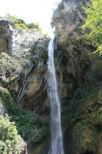 Wasserfall Cascade de Courmes