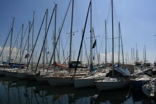 Die Marina von La Napoule