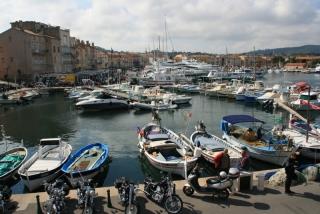 Das alte Hafenbecken von St. Tropez