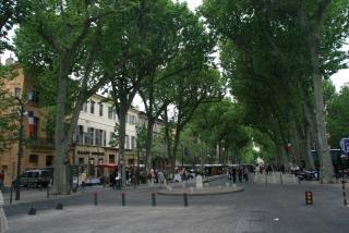 Die Prachtmeile von Aix - der Cours Mirabeau