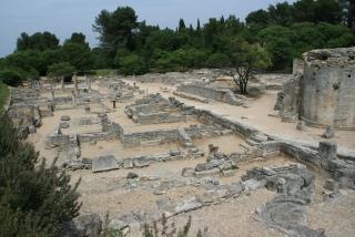 Die Ausgrabungsstätte von Glanum