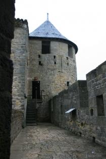 Die Burganlage von Carcassonne