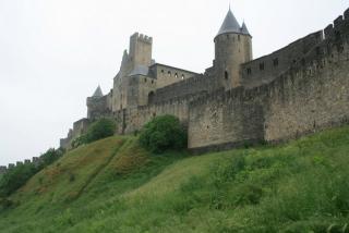 Stadtmauer von Carcassonne