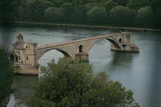 """Die """"Brücke"""" von Avignon - bekannt aus dem Kinderlied"""