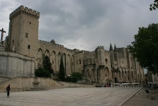 Der Papstpalast von Avignon