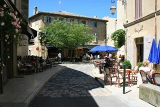 Mittagessen in Lourmarin