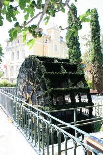 Wasserrad in L'Isle-sur-la-Sorgue