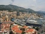 Blick auf den Hafen von Monte Carlo