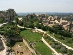 Überblick über Les Baux-de-Provence
