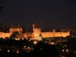 Carcassonne bei Nacht