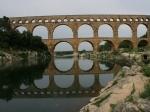Das berühmte Aquädukt - Pont du Gard