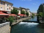 Das Klein-Venedig der Provence, L'Isle-sur-la-Sorgue