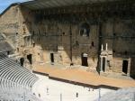 Innenansicht des Amphitheaters in Orange