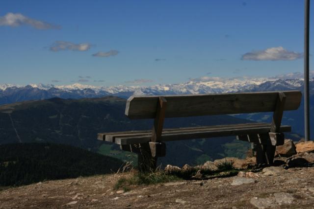 Ausblicke in die Berge