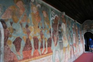 Freskenzyklus in Schloss Runkelstein