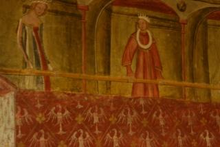 Fresken in Schloss Runkelstein
