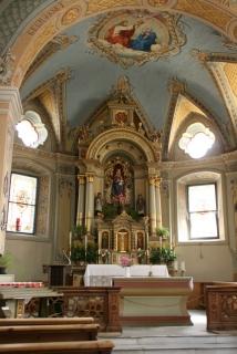 In der Kirche der kleinsten südtiroler Stadt