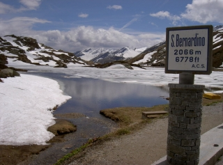 Fahrt ins Tessin - San Bernadino Pass