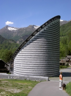 Kirche von Mogno - Architekt Mario Botta