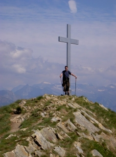 Gipfelkreuz Alpe di Neggia